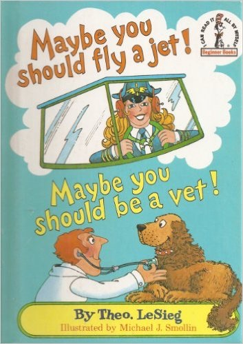 Maybe you should fly a jet! Maybe you should've a vet!
